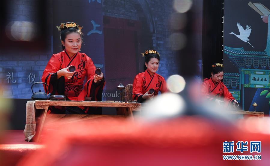 (文化)(3)汉文化旅游节上的汉服嘉年华