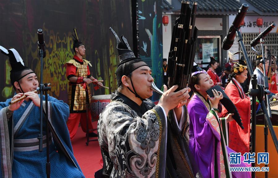 (文化)(4)汉文化旅游节上的汉服嘉年华