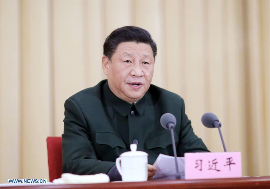 CHINA-BEIJING-XI JINPING-MILITARY ACADEMIES AND SCHOOLS-TRAINING SESSION (CN)