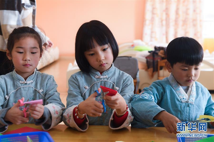 """(教育)(5)幼儿园里的""""国学课堂"""""""