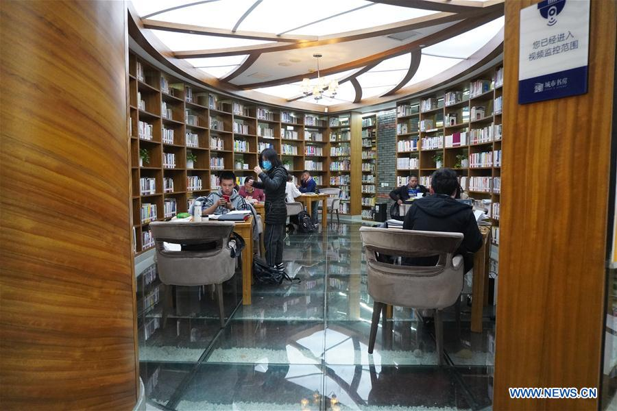 China's Zhejiang builds 81 24-hour city study rooms for citizens