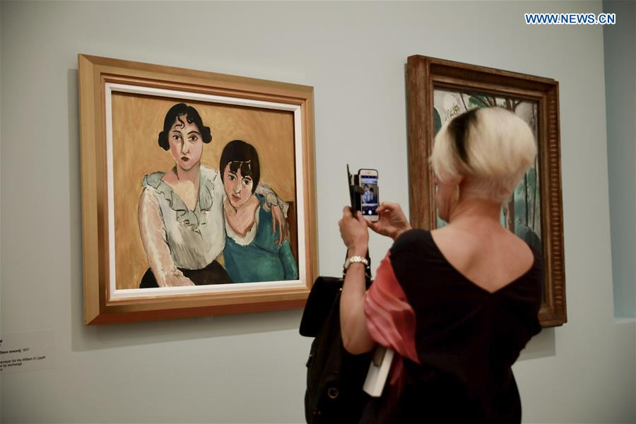AUSTRALIA-CANBERRA-EXHIBITION-PICASSO AND MATISSE