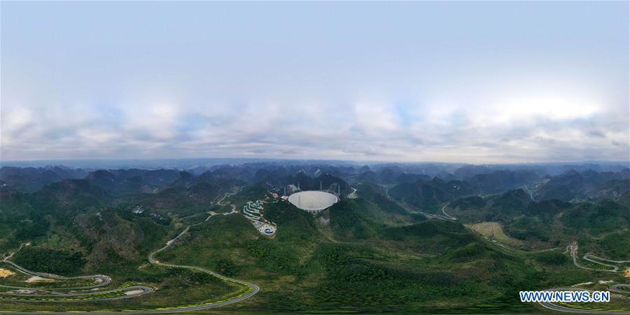 (EyesonSci)CHINA-GUIZHOU-FAST TELESCOPE-FORMAL OPERATION-START(CN)