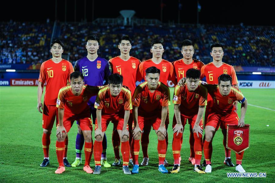 (SP)THAILAND-SONGKHLA-FOOTBALL-AFC U23 CHAMPIONSHIP-CHN VS UZB