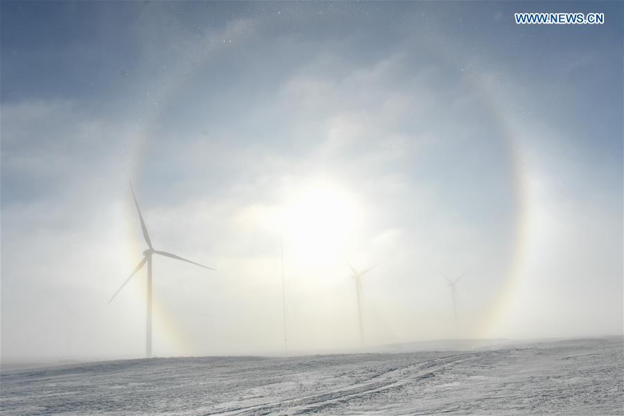 CHINA-INNER MONGOLIA-XILINHOT-GRASSLAND-WINTER SCENERY (CN)