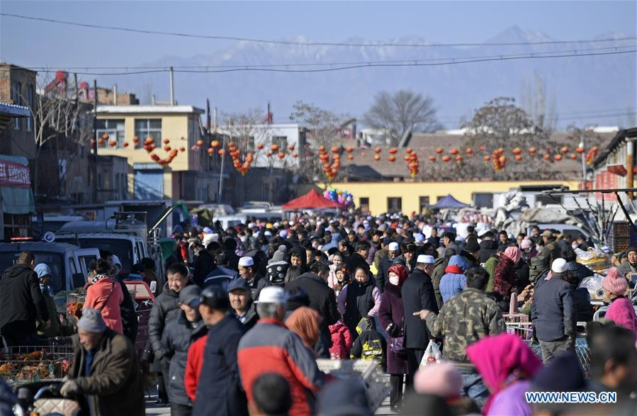 CHINA-NINGXIA-YINCHUAN-SPRING FESTIVAL MARKET (CN)