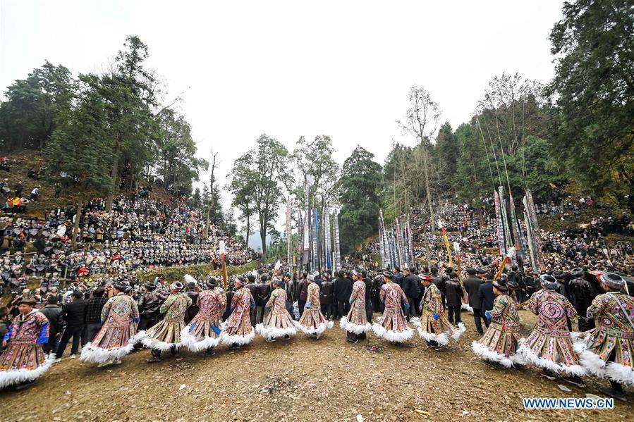 #CHINA-GUIZHOU-RONGJIANG-GU ZANG FESTIVAL