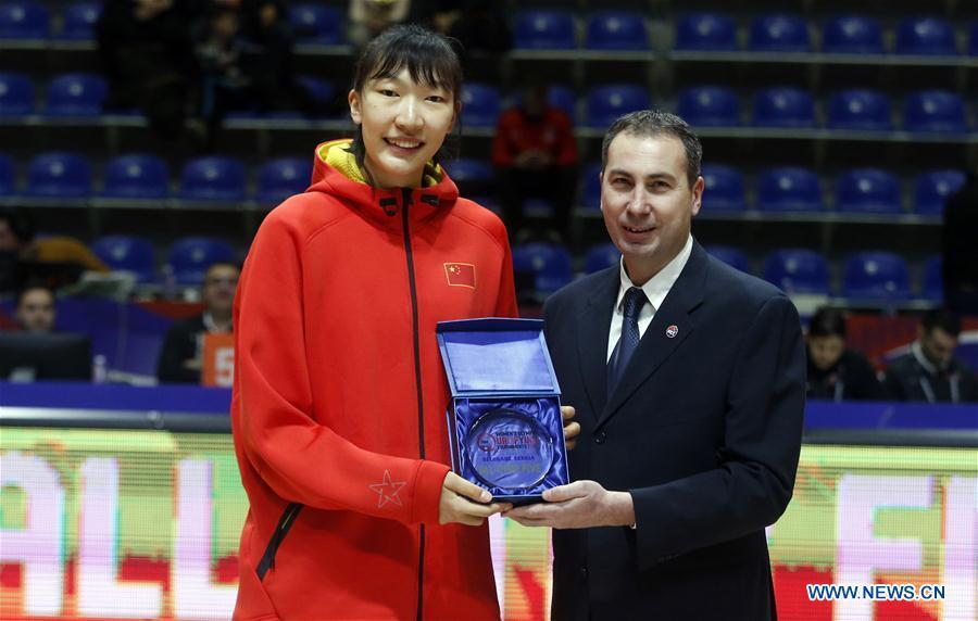(SP)SERBIA-BELGRADE-FIBA-WOMEN'S OLYMPIC QUALIFYING TOURNAMENT