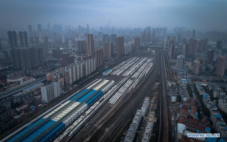CHINA-WUHAN-NCP-TRAIN(CN)
