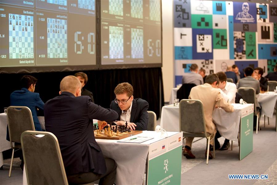 (SP)CZECH REPUBLIC-PRAGUE-INTERNATIONAL CHESS FESTIVAL