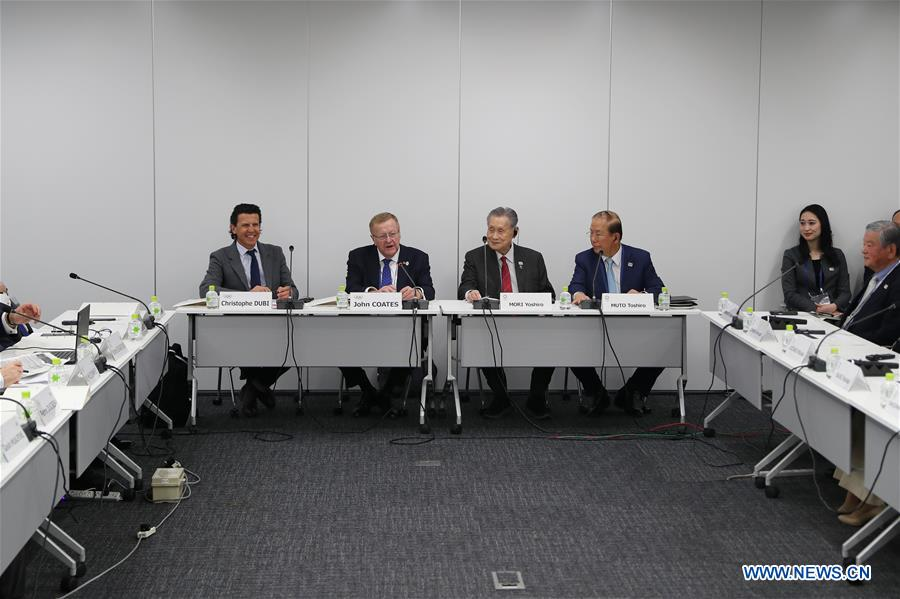 (SP)JAPAN-TOKYO-IOC-TOKYO 2020-PROJECT REVIEW-MEETING