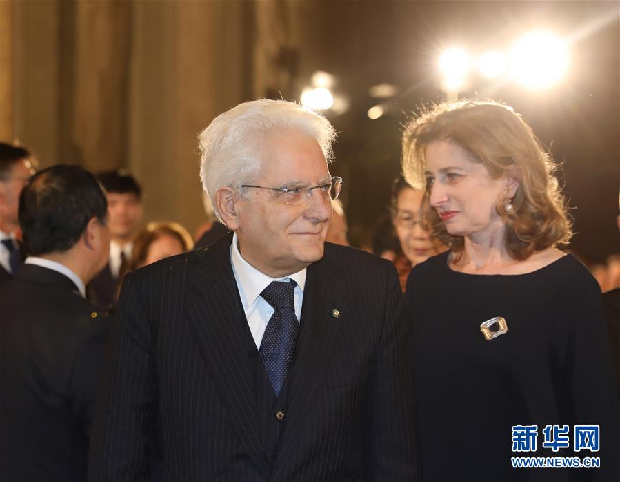 The Italian presidential palace held a special concert in support of China's fight against the COVID-19