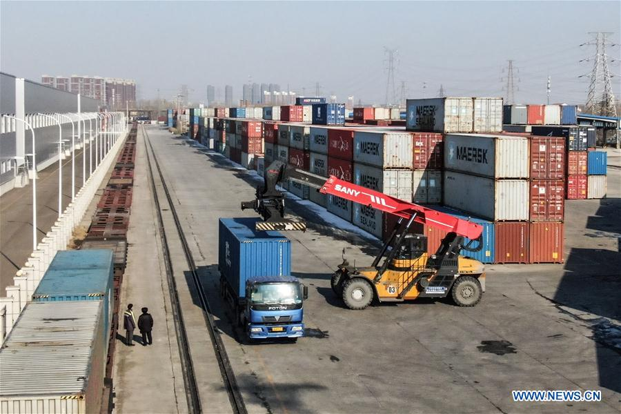 CHINA-LIAONING-FREIGHT TRAIN-REGULAR OPERATION (CN)