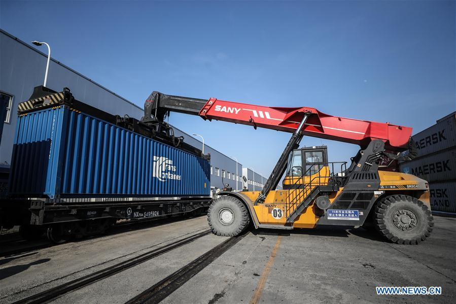CHINA-LIAONING-FREIGHT TRAIN-REGULAR OPERATION (CN)