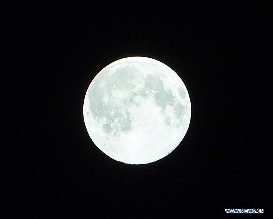 Super moon seen across China