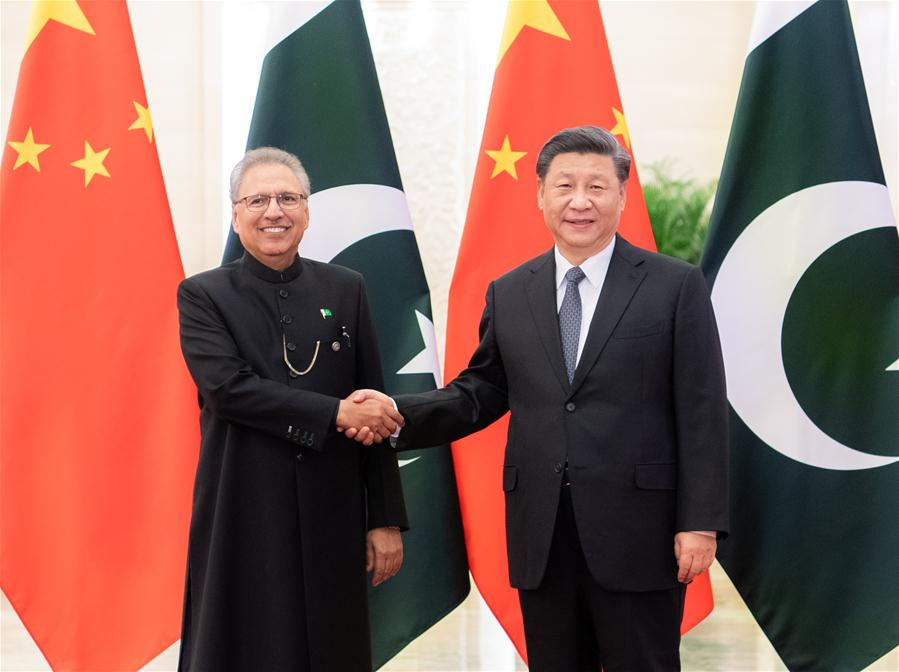 CHINA-BEIJING-XI JINPING-PAKISTANI PRESIDENT-TALKS (CN)
