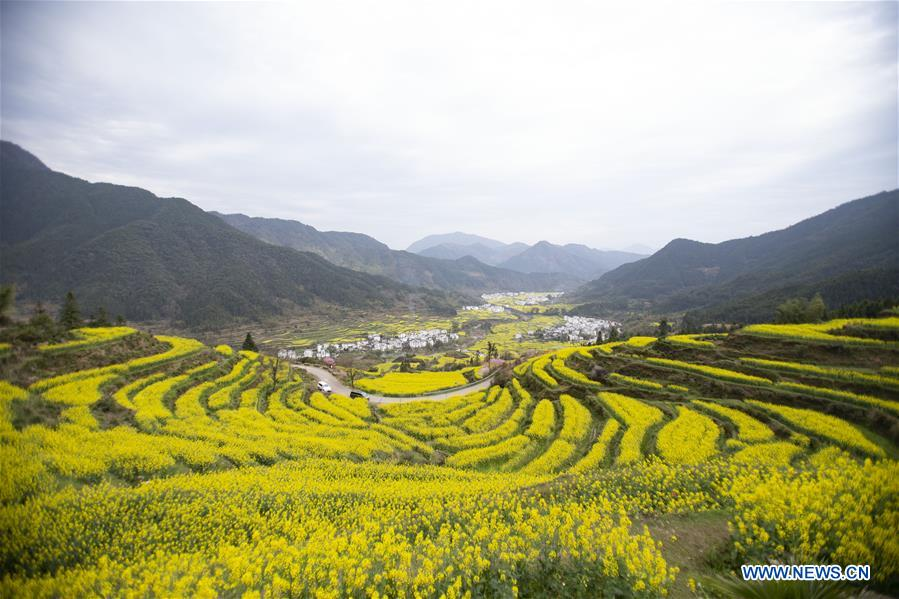 CHINA-JIANGXI-WUYUAN-TOURISM-SCENERY (CN)