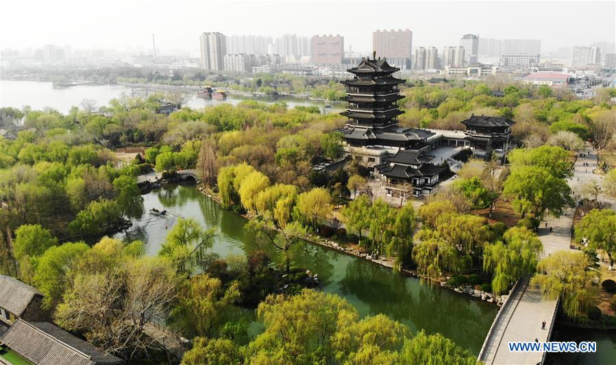 CHINA-JINAN-DAMING LAKE-SPRING (CN)