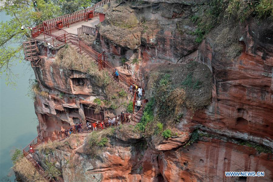CHINA-SICHUAN-LESHAN-GIANT BUDDHA-REOPEN (CN)