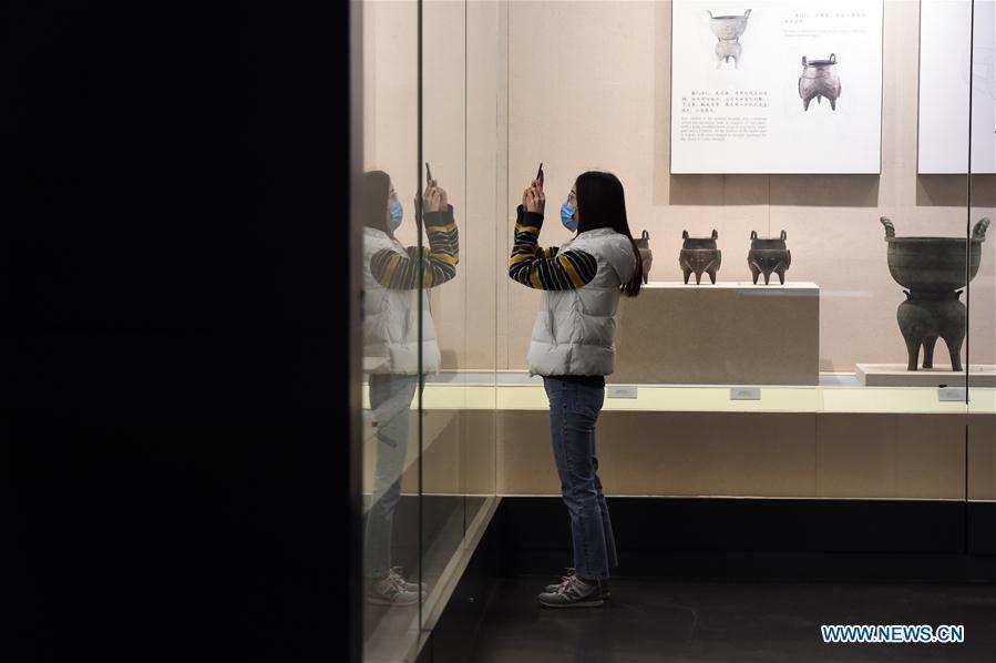 CHINA-ANHUI-HEFEI-ANHUI MUSEUM-REOPEN (CN)