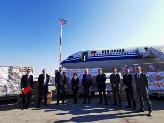 China donates supplies to reach Greece