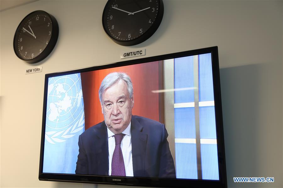 UN-GUTERRES-COVID-19-GLOBAL HUMANITARIAN RESPONSE PLAN-LAUNCH
