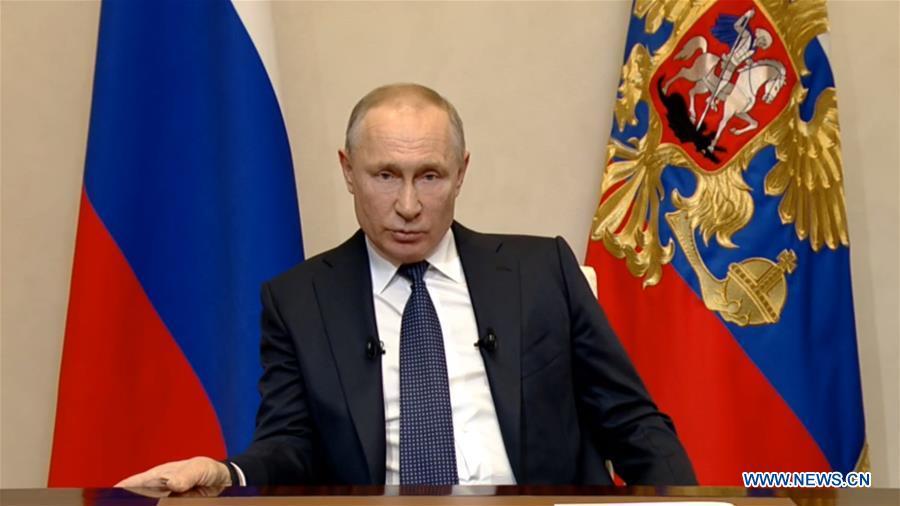 RUSSIA-MOSCOW-PUTIN-TV ADDRESS