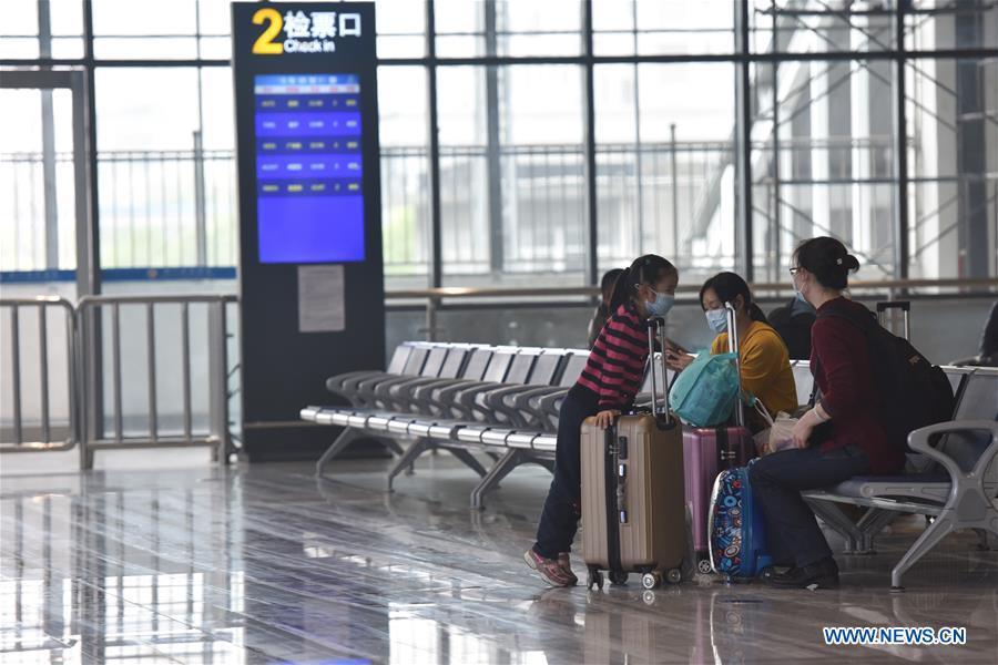 CHINA-HUBEI-JINMEN-RAILWAY SERVICES-RESUMPTION (CN)