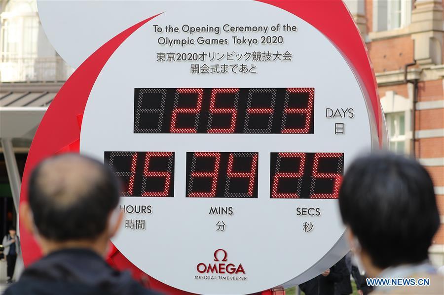 (SP)JAPAN-TOKYO-OLYMPICS-POSTPONEMENT