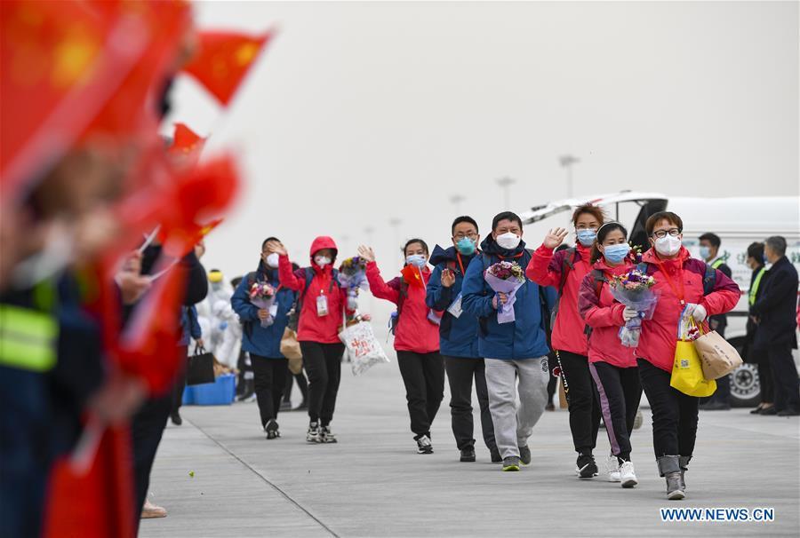 CHINA-NINGXIA-YINCHUAN-MEDICS-RETURN (CN)