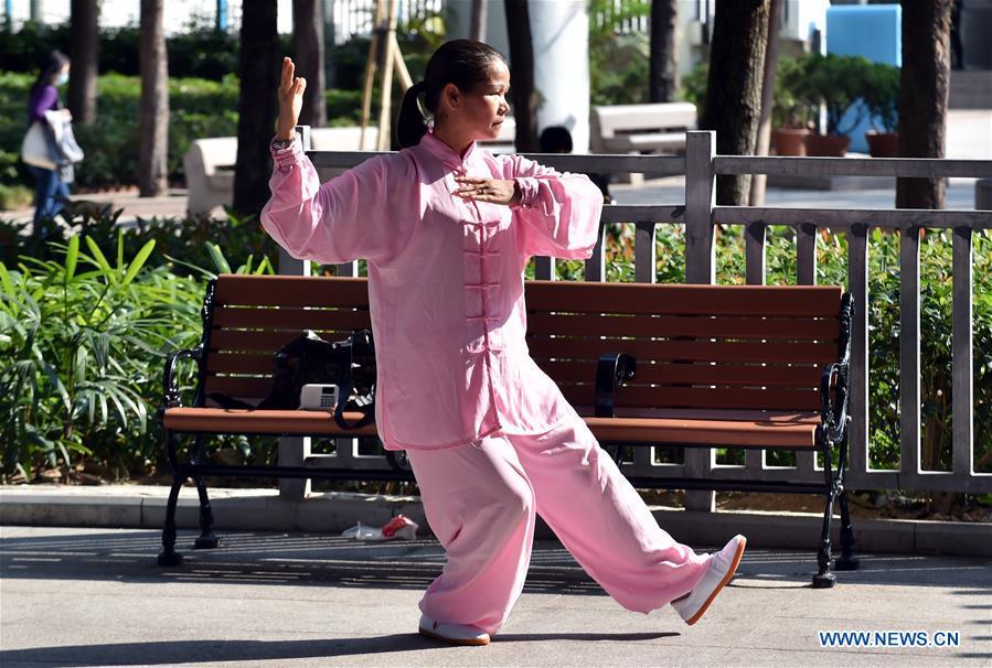 CHINA-HONG KONG-EXERCISE (CN)
