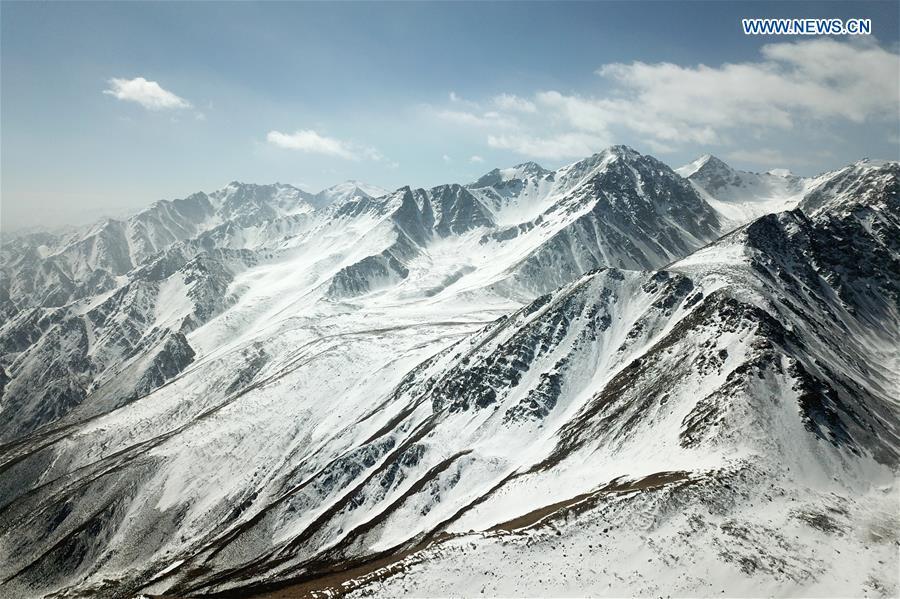 CHINA-GANSU-SUNAN-SNOW MOUNTAINS (CN)