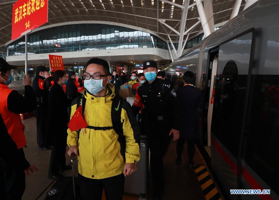 132 medical workers from Hunan return home from Wuhan