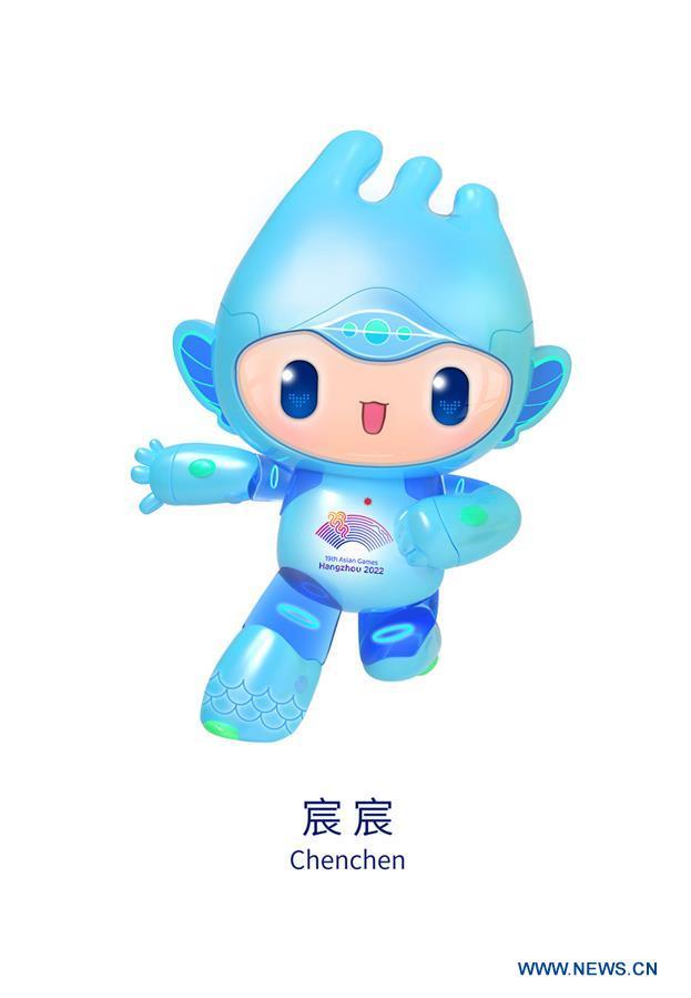 (SP)CHINA-HANGZHOU-ASIAN GAMES-MASCOTS-LAUNCH