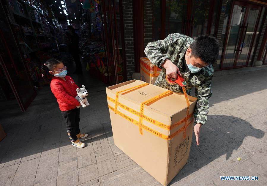People prepare for work, business resumption in Wuhan