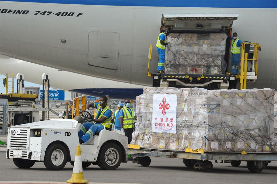 GHANA-ACCRA-COVID-19-AFRICA-CHINA-SUPPLIES