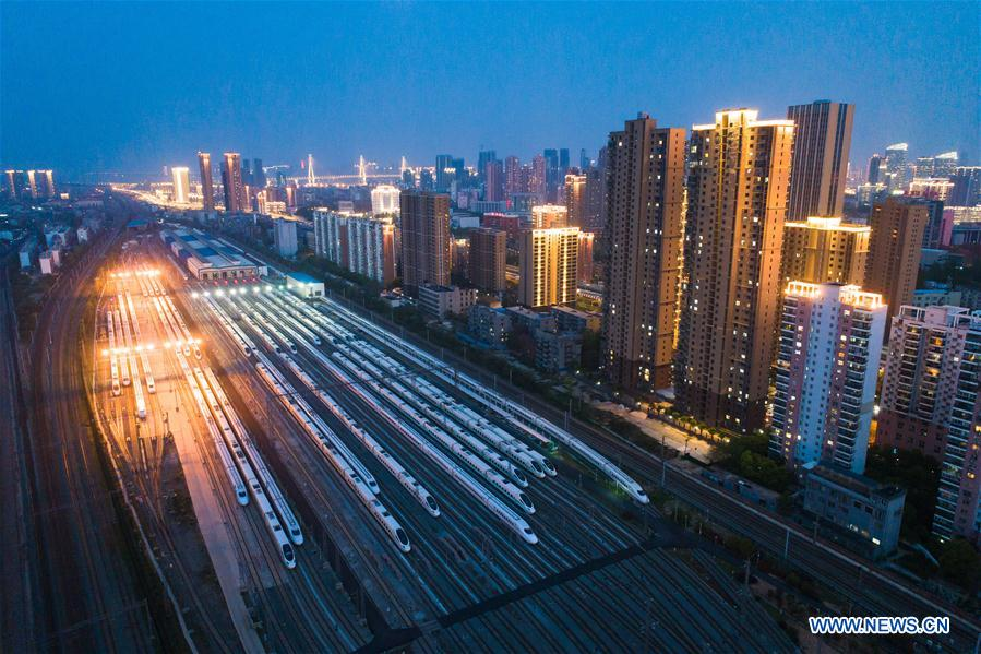 CHINA-HUBEI-WUHAN-TRAIN-DEPOT (CN)