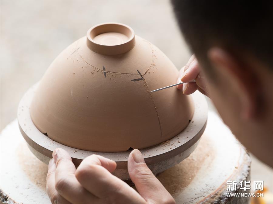 """(文化)(5)重現南宋青瓷""""馬蝗絆"""""""