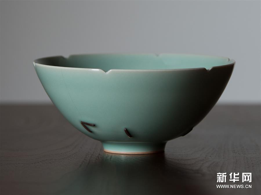 """(文化)(4)重現南宋青瓷""""馬蝗絆"""""""