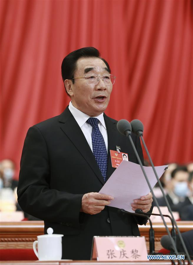(TWO SESSIONS)CHINA-BEIJING-ZHANG QINGLI-CPPCC-OPENING (CN)