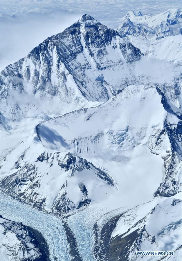 CHINA-MOUNT QOMOLANGMA-AERIAL VIEWS (CN)