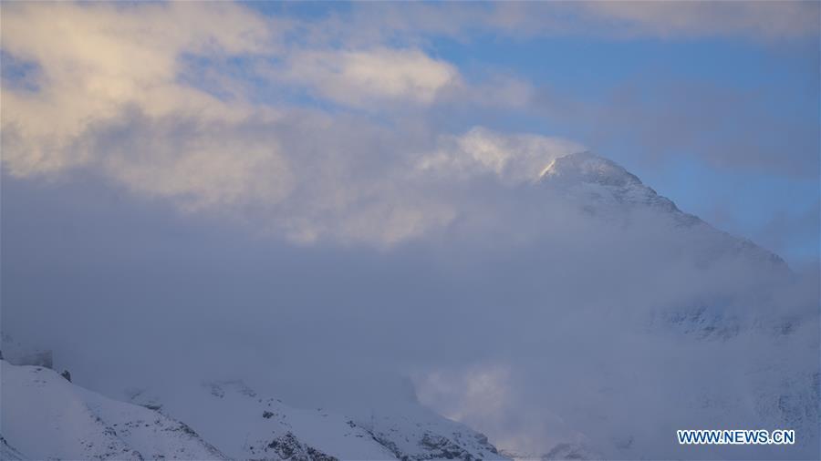 CHINA-MOUNT QOMOLANGMA-SURVEY TEAM-SUMMIT (CN)