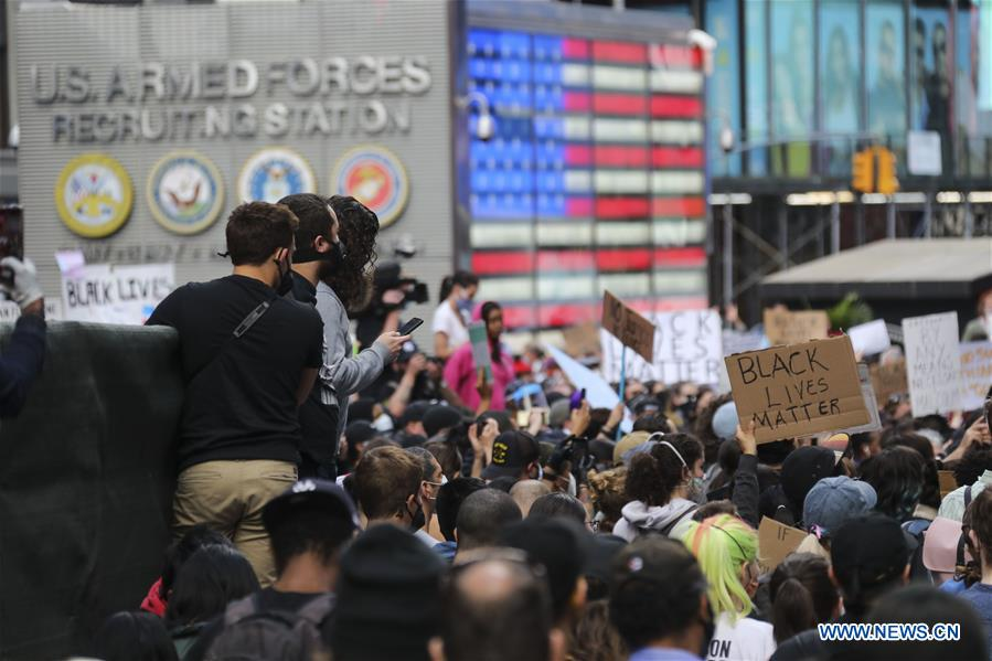 U.S.-NEW YORK-PROTESTS