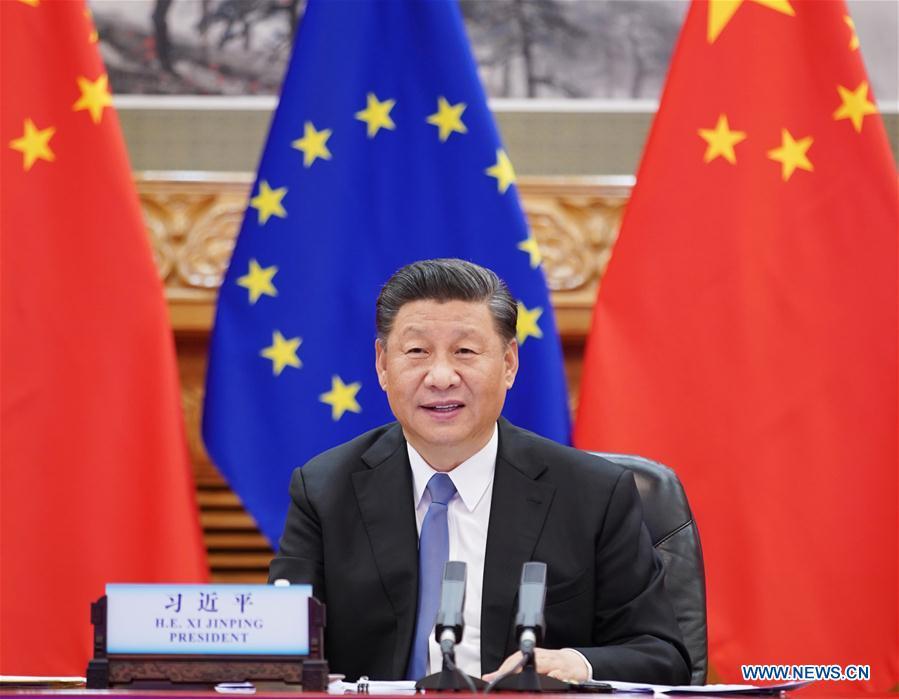CHINA-BEIJING-XI JINPING-EU LEADERS-MEETING (CN)