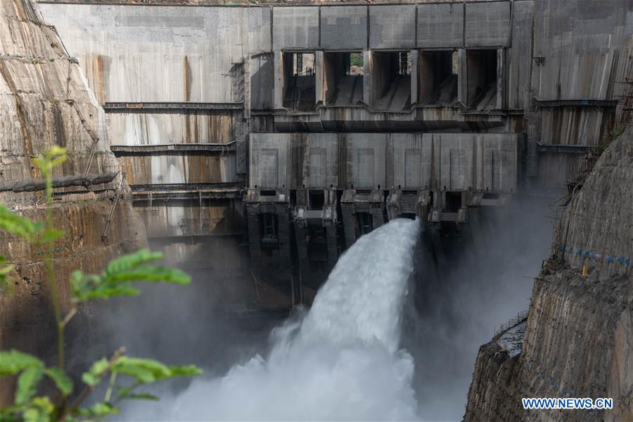 First group of electricity-generation units at Wudongde Hydropower Station put into use