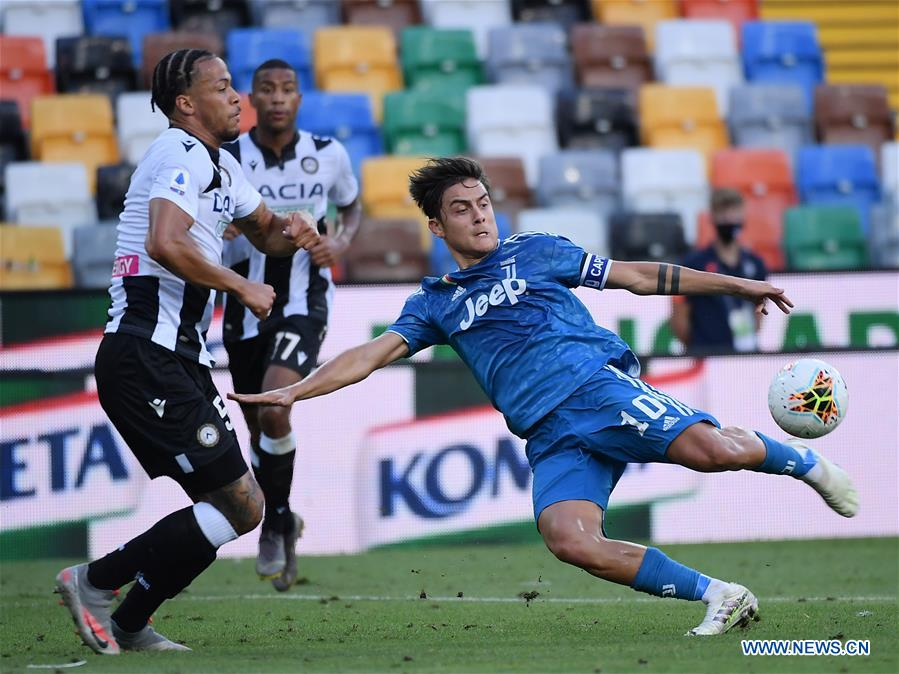 (SP)ITALY-UDINE-FOOTBALL-SERIE A-UDINESE VS JUVENTUS