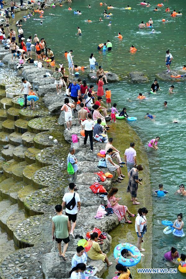 CHINA-HUBEI-ENSHI-RIVER-LEASURE (CN)