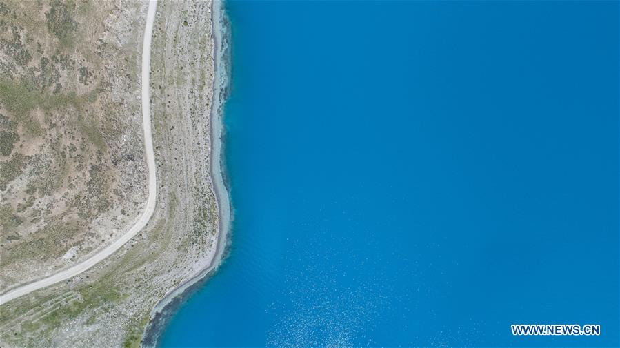 CHINA-TIBET-LAKE-YAMZBOG YUMCO-SCENERY (CN)