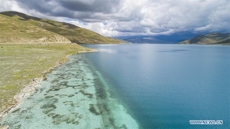CHINA-TIBET-LAKE-YAMZBOG YUMCO-SCENERY (CN)