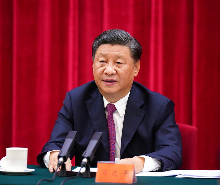 CHINA-BEIJING-XI JINPING-COMMEMORATION-75TH ANNIVERSARY-ANTI-JAPANESE WAR-VICTORY-SYMPOSIUM (CN)